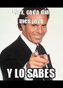 Alex, cada día més jove Y LO SABES - Personalised Poster A4 size