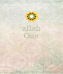 allah One    - Personalised Poster A4 size