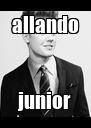allando junior - Personalised Poster A4 size