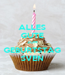ALLES GUTE ZUM GEBURTSTAG SVEN - Personalised Poster A4 size
