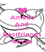 Amelia And  Charlie Bestfriends 4evaa - Personalised Poster A4 size