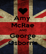 Amy  McRae AND George Osborne - Personalised Poster A4 size