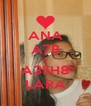 ANA A7B W A3SH8 LARA - Personalised Poster A4 size