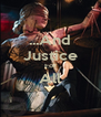 ...And Justice For All  - Personalised Poster A4 size
