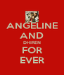 ANGELINE AND DHIREN FOR EVER - Personalised Poster A4 size