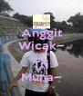 Anggit Wicak~ LOVE Tri Muna~ - Personalised Poster A4 size