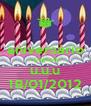 aniversário chegando u.u.u 18/01/2012 - Personalised Poster A4 size