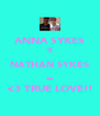 ANNA SYKES + NATHAN SYKES = <3 TRUE LOVE!! - Personalised Poster A4 size