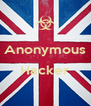 Anonymous  Hacker  - Personalised Poster A4 size