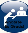 Anotate  ¡Es Gratis! - Personalised Poster A4 size