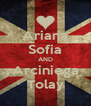 Ariana Sofia AND Arciniega Tolay - Personalised Poster A4 size