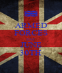 ARMED FORCES DAY JUNE 30TH - Personalised Poster A4 size
