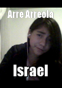 Arre Arreola Israel - Personalised Poster A4 size