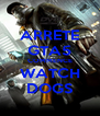 ARRETE GTA5 COMMENCE WATCH DOGS - Personalised Poster A4 size