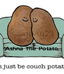 Ashna The Potato  - Personalised Poster A4 size