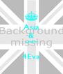 Asia & Lekarri  4Eva - Personalised Poster A4 size