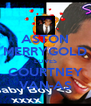 ASTON MERRYGOLD LOVES COURTNEY VAN-AS - Personalised Poster A4 size