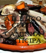 ATLETICO CLUB  DE CAMINHA PARTICIPA  - Personalised Poster A4 size