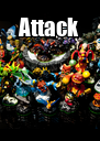 Attack  - Personalised Poster A4 size