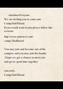 Attention Everyone We are inviting you to come join  Camp-Half Blood. If you would want to join please follow this  website:  http://www.pinterest.com/ camp12halfblood/   You may join and - Personalised Poster A4 size