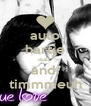 auto hartje sall and  timmmeuh - Personalised Poster A4 size