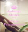 Autumn Miller And Maria Paramonova - Personalised Poster A4 size
