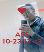 BAE ASS 10-23-13 <3 - Personalised Poster A4 size