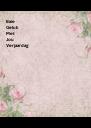Baie Geluk Met Jou Verjaardag - Personalised Poster A4 size