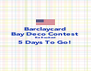 Barclaycard Bay Deco Contest  Be Excited 5 Days To Go!  - Personalised Poster A4 size