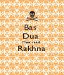 Bas  Dua  Mee yaad  Rakhna  - Personalised Poster A4 size