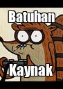 Batuhan Kaynak - Personalised Poster A4 size