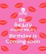 Be  Ř€åďÿ KĥåqøØ MãĹîk's Birthday is Coming soon - Personalised Poster A4 size