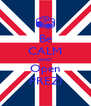 Be CALM AND Open PREZI - Personalised Poster A4 size