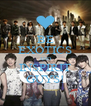BE EXOTICS AND INSPIRIT GUYS! - Personalised Poster A4 size