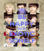 BE HAPPY be an EXOTIC SONELF - Personalised Poster A4 size