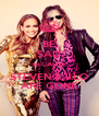 BE SAD BECAUSE STEVEN & J.LO ARE GONE - Personalised Poster A4 size