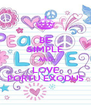 BE SIMPLE AND LOVE PORTU EXODUS - Personalised Poster A4 size