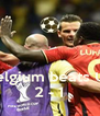 Belgium beats US 2 - 1 - Personalised Poster A4 size