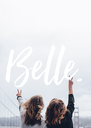 Belle. - Personalised Poster A4 size
