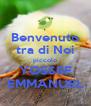Benvenuto tra di Noi piccolo YOSSEF EMMANUEL - Personalised Poster A4 size