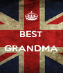 BEST  GRANDMA  - Personalised Poster A4 size