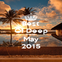 Best Of Deep House May 2015 - Personalised Poster A4 size