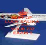 BEST OF  LUCK SALIKA  & '' MAX '' YOUR 737 EXAM !! - Personalised Poster A4 size
