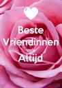 Beste Vriendinnen Voor Altijd  - Personalised Poster A4 size