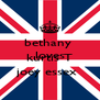 bethany  loves  kurtis T joey essex  - Personalised Poster A4 size