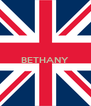BETHANY   - Personalised Poster A4 size