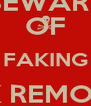 BEWARE OF FAKING LINK REMOVAL NOTICES - Personalised Poster A4 size
