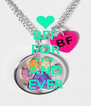 BFF FOR EVER AND EVER - Personalised Poster A4 size