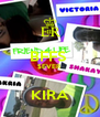 BFFS  $EVER   KIRA - Personalised Poster A4 size