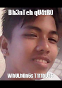 Bh3nTeh qU4tR0 WhULhUn6s T1t1bUa6 - Personalised Poster A4 size